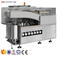 YB-YX2 automatic alcohol penicillin bottle filling capping machine