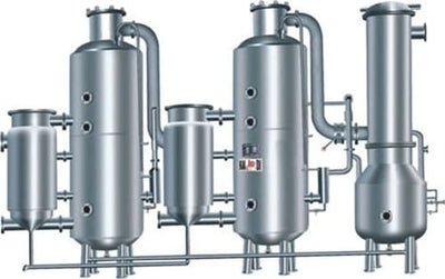 Zns2-500-5000 Model the Newest Internal-heating Two-effect-energy Saving Evaporator - Chinese Medicine Machine