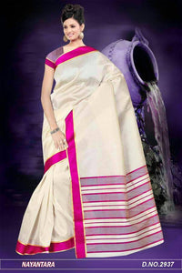 Adhesiv PINK Color Designer Saree