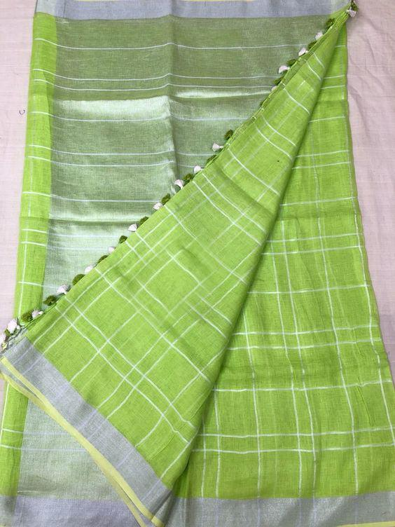 Impresseive Green Color Designer Saree