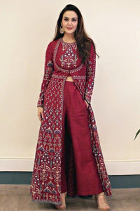 Stunning Maroon  Color Salwar Suit