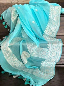 New Arrival Designer Linen Silk Saree