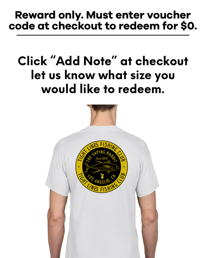 Tight Lines Fishing Club Tee *Reward Only*