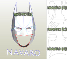 Load image into Gallery viewer, Batman Mask Pdo