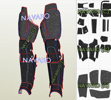 Load image into Gallery viewer, batman shin guards foam template