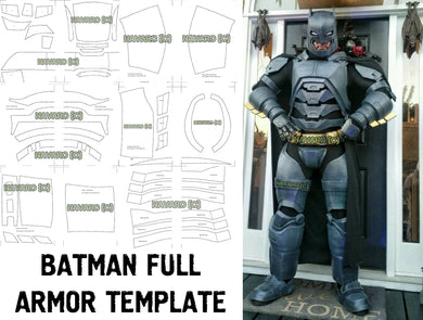 Batman Armor Template