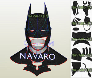 Batman Arkham Origins Foam Template