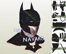 Load image into Gallery viewer, Batman Cowl Foam Pattern