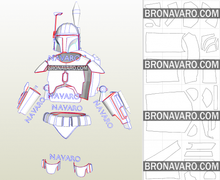 Load image into Gallery viewer, Boba Fett Armor Pdo