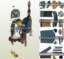 Load image into Gallery viewer, Boba Fett Cospla Armor Pdf