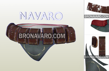 Load image into Gallery viewer, Boba Fett Cosplay Belt Pattern