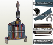Load image into Gallery viewer, boba fett jet pack foam template
