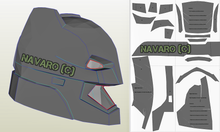Load image into Gallery viewer, bvs helmet pattern
