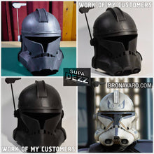 Load image into Gallery viewer, Captain Rex Helmet Template