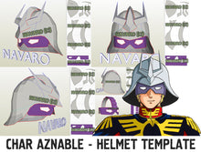Load image into Gallery viewer, Char Aznable Gundam Helmet
