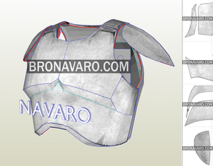 clone trooper armor eva foam template