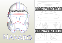 Load image into Gallery viewer, Captain Rex Helmet Pepakura