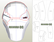 Load image into Gallery viewer, Death Stroke Cosplay Template