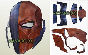 DeathStroke eva foam template