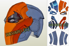 Load image into Gallery viewer, DeathStroke injustice helmet template