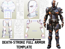 Load image into Gallery viewer, deathstroke armor pepakura