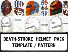Load image into Gallery viewer, DeathStroke helmets template