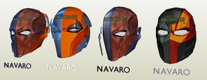 DeathStroke all helmets