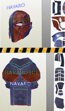 Load image into Gallery viewer, deathstroke pepakura armor