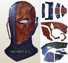 Load image into Gallery viewer, deathstroke pepakura helmet