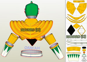 green ranger cosplay pattern