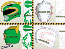 Load image into Gallery viewer, green ranger eva  foam helmet