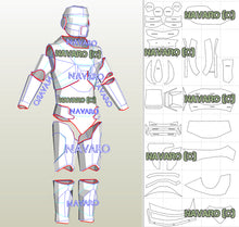 Load image into Gallery viewer, HEV armor pattern