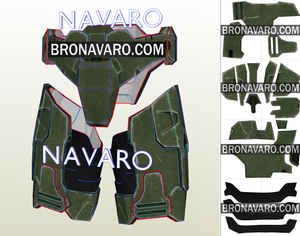 Halo Cosplay Armor Pattern