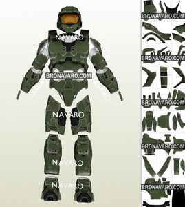 Master Chief Spartan Armor Cosplay