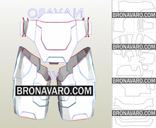 Load image into Gallery viewer, Halo Spartan Armor Pattern