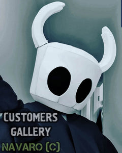 hollow knight cosplay helmet