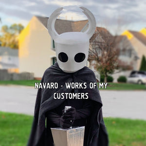 HOLLOW KNIGHT - Template / Pattern - Hollow Knight Cosplay - Hornet Helmet - Hollow Knight Mask - Eva Foam - Pepakura / PDF