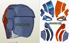 Load image into Gallery viewer, Death Stroke Helmet Eva Foam Pattern