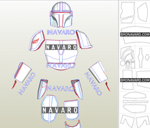 Load image into Gallery viewer, Mandalorian Armor Pdo