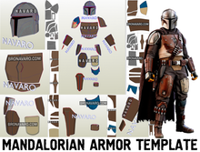 Load image into Gallery viewer, Mandalorian Armor Pepakura
