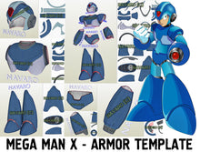 Load image into Gallery viewer, mega man armor template