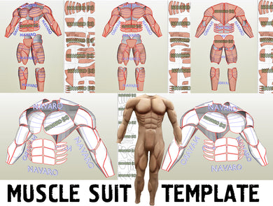 Muscle Suit pepakura
