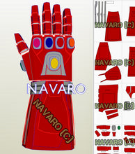Load image into Gallery viewer, iron man nano gauntlet pepakura