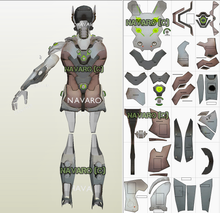 Load image into Gallery viewer, genji cosplay armor