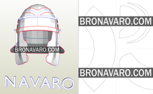 Load image into Gallery viewer, Roman Imperial Helmet foam template