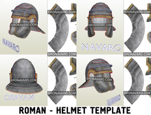 Load image into Gallery viewer, Roman Legionary Helmet Pepakura
