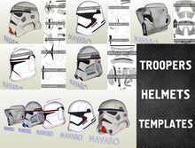 Load image into Gallery viewer, Star Wars Helmet Pepakura