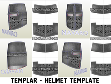 Load image into Gallery viewer, Templar Helmet Pepakura
