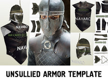 Load image into Gallery viewer, unsullied costume template