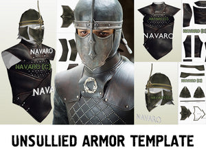unsullied costume template